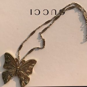 3x$15 Butterfly statement necklace